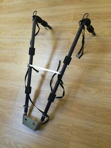 bicycle carrier towball bracket mount used 2 bikes