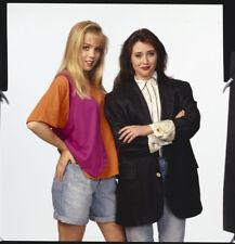 BEVERLY HILLS 90210 Original Photo Transparency Shannen Doherty Jennie Garth
