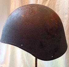 Vintage WWII US NAVY Bomber M2 Flak Rare Helmet Gunner -Huge- Radio Man Helmet