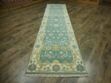 Super Turkish Veg Dye Oushak Heriz Serapi Tabrizz 2.7x10.3 Contemporary Rug