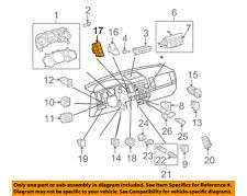 TOYOTA OEM 08-16 Sequoia Driver Information Center-Switch 849770C090