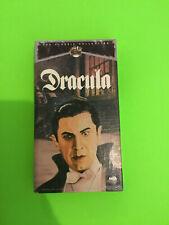 SEALED DRACULA VHS TAPE UNIVERSAL MONSTERS HORROR