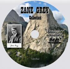 ZANE GREY Collection - 15 Unabridged AudioBooks on 1 MP3 Audio DVD