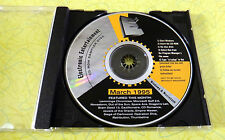 E2 Electronic Entertainment March 1995 ~ PC/Mac CD Rom Game Demo Sampler Disc