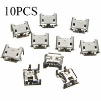 10pcs Micro USB Type B Female 5 Pin DIP Socket Jack Connector Port Charging