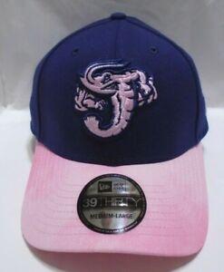 Jacksonville Jumbo Shrimp Men's New Era 39THIRTY M/L Cap Hat