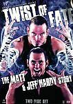 WWE - Twist Of Fate - The Matt & Jeff Hardy Story (DVD, 2008, 2-Disc Set) NEW