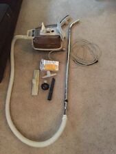 Vintage Montgomery Ward Canister Vacuum With Attachments And Bags