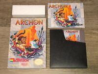 Archon Nintendo Nes Complete CIB Good Condition Authentic