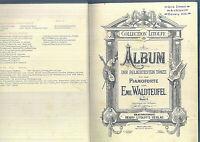 privat gebunden, alte Noten - Waldteufel-Album, Klassische Märsche, Musik für