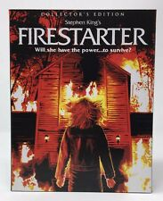 SCREAM FACTORY Firestarter (Blu-ray 2017, Collectors Edition) with Slipcover