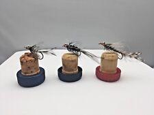 Magnus mouches de pêche -lures EAU MER Crochets truite saumon Bass #4a