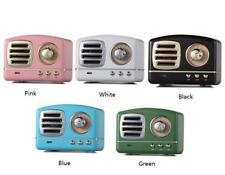 CASSA SPEAKER BLUETOOTH PORTATILE RETRO' VINTAGE MICROSD USB AUX MICRO SD OZ-013