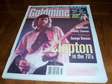 ERIC CLAPTON - CLAPTON IN THE 70s -1998 GOLDMINE MAGAZINE - GEORGE BENSON