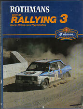 World Rallying Annual No. 3 Rothmans 1980 Season by Holmes & Bishop 1981