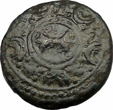 Alexander III the Great 334BC Shield Crested Helmet Ancient Greek Coin  i36852