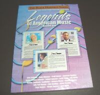 1 NEW STAMPED Postcards LEGENDS OF MUSIC Black Heritage Series 5x7 & STAMPS