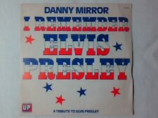 "DANNY MIRROR I remember Elvis Presley 7"" ITALY"