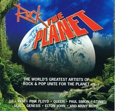 ROCK THE PLANET - 2 CD Neu Pink Floyd U2 Steve Winwood Paul McCartney Queen