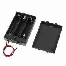 3 Pcs Wired ON/OFF Switch 3 x AA 4.5V Batteries Battery Holder Case LW