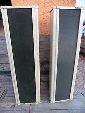 BOUYER RC32 ,2 enceintes colonne/vintage french church speakers/haut-parleur