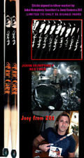 KISS,  ERIC CARR, GENUINE AUTOGRAPHED SIGNATURE DRUMSTICKS BY SEETHER & Z02