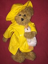 the bearington collection Donald Bear With Raincoat And Duck