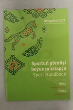 Turkmen Chess Sport Handbook. Asian Indoor & Martial Art Book 2017