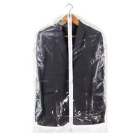 """Hangerworld™ 2 Clear 40"""" Showerproof Suit Covers Garment Clothes Protector Bags"""