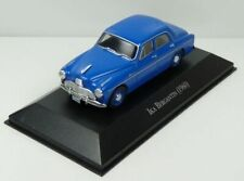 Model Car, IKA Bergantin 1960 Blue 1:43 SCALE IXO + DISPLAY CASE Brand New