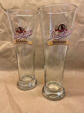 Leinenkugel's Tall Flared Shandy Pilsners Glass Very Good Condition.