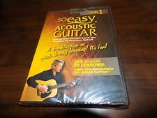 SO EASY Acoustic Guitar Lessons Music Education Level 1 20 Lessons DVD NEW
