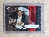 2009 Press Pass Wheels Razor Event Leaf Poker DOYLE BRUNSON