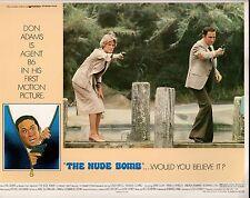"Don Adams The Nude Bomb Get Smart Original 11x14"" Lobby Card #M3473"