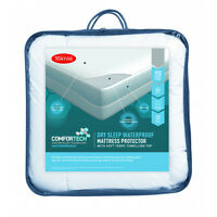 Tontine Comfortech Dry Sleep Waterproof  Mattress Protector -All Sizes