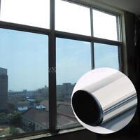 Spiegelfolie Fensterfolie UV Sonnenschutz Sichtschutzfolie Spionfolie 50x100 cm