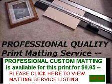 PROFESSIONAL ART PRINT MATTING SERVICE 11x14 matting For Photos & Art Prints