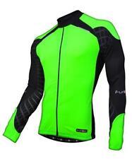 Men's Long Sleeve Cycling Jerseys with Full Zipper