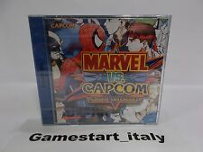 MARVEL VS CAPCOM (SEGA DREAMCAST) NEW SEALED VERY RARE PAL DC NUOVO SIGILLATO