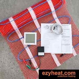 Floor Heating Kit 3.5 sqm underfloor undertile under floor for diy or trade WIFI