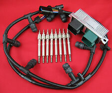 6.0L Powerstroke Glow Plug Kit - Dual Coil Glow Plugs, Controller, Harnesses