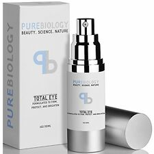 Pure Biology Creams Total Eye Anti Aging Eye Cream Infused with Instant Lift