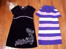 Lots of 2 Comfy Dresses for Girls, size 8, Pre-owned