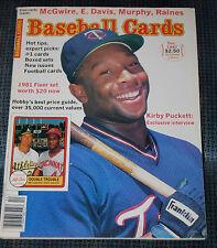 Basebll Cards Magazine December 1987