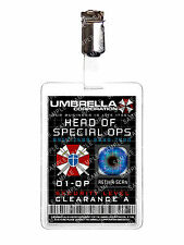 Resident Evil Umbrella Corp Head of Special Ops Cosplay Prop Comic Con
