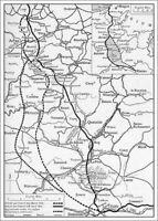 7x5 Foto Ww1daf Guerra Mondiale 1 Mappa Tedesca Pensionamento Pensione Dopo