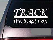 Track sticker decal *E337* triathlete run hurdles shoes running coach speed fast