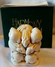 Harmony Kingdom Bunny Rabbits At The Hop Trinket Jewelry Box