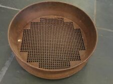 ANTIQUE METAL SIEVE MADE IN ENGLAND