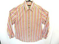 AXIS LA brand 100% cotton mens striped shirt size small to 2xL   NEW      YX1